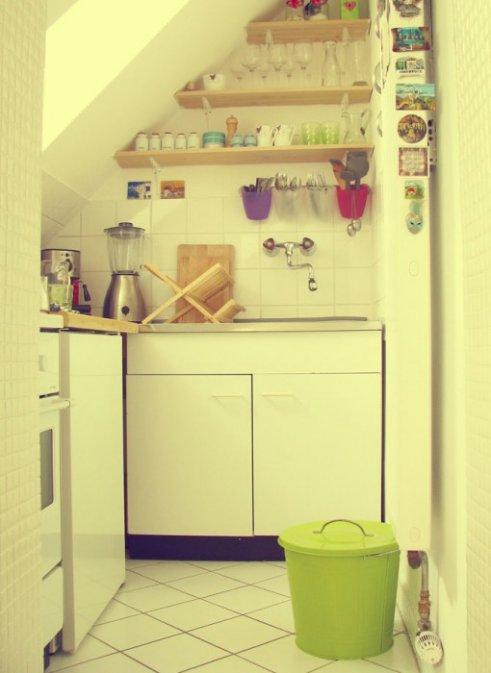 Cocinas peque as que aprovechan el espacio decocasa - Ejemplos cocinas pequenas ...