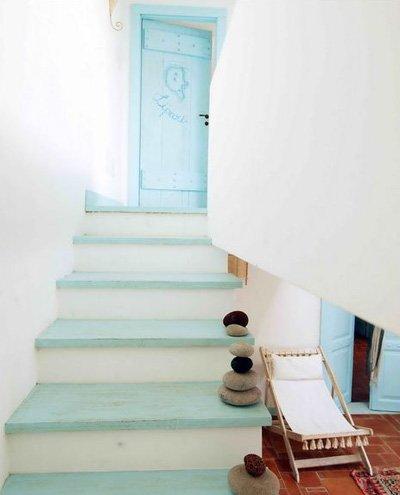 Escaleras de aires r̼sticos Рdecocasa