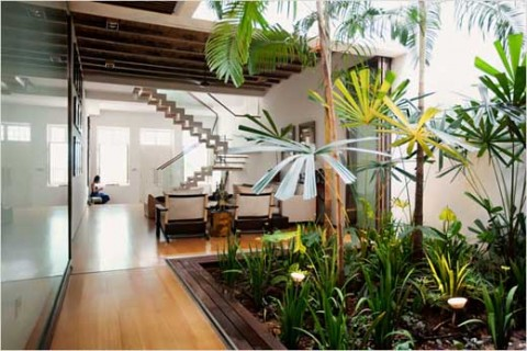 Jardines interiores for Decoracion jardin interior