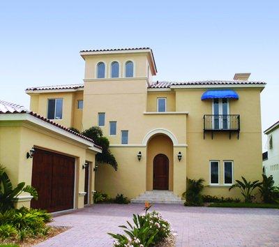 Pintura exterior consejos para pintar el exterior de nuestra casa decocasa - Pinturas para fachadas de casas ...