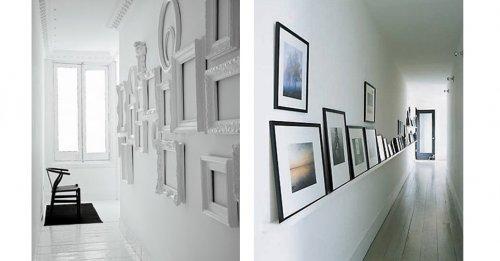 Consejos para decorar el pasillo decocasa - Cuadros para decorar pasillos ...
