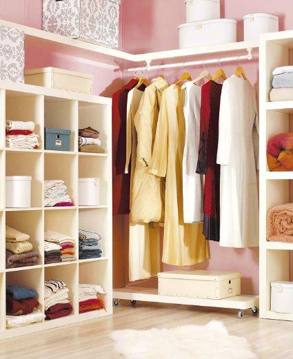 Vestidores abiertos decocasa - Ideas para armarios empotrados ...