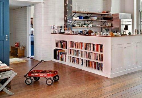Decoracion y dise o decoraci n living decocasa bibliotecas - Estanterias de cocina ...