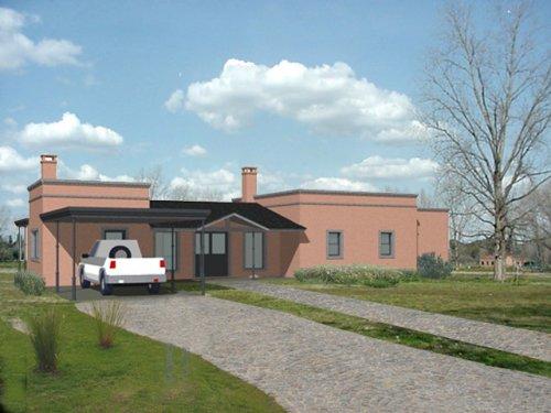 Casas de campo principales tendencias decocasa for Casa estilo campo moderno
