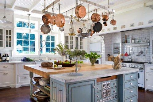 Cocinas blancas y r sticas decocasa - Amenager une salle de bain de 7m2 ...