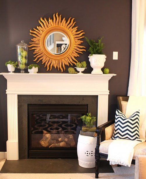 tips para decorar con espejos decocasa On espejos para chimeneas