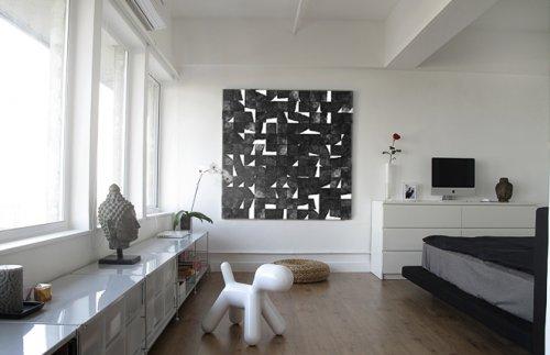 Decotour un 2 ambientes sencillo pero personal decocasa for Decoracion living departamento 2 ambientes