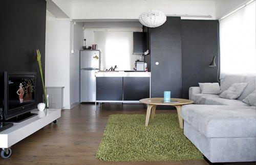Decotour un 2 ambientes sencillo pero personal decocasa for Decoracion departamento 2 ambientes