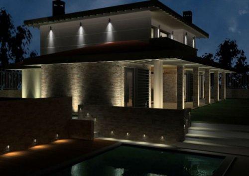 Consejos tips para iluminar exteriores decocasa for Iluminacion exterior jardin
