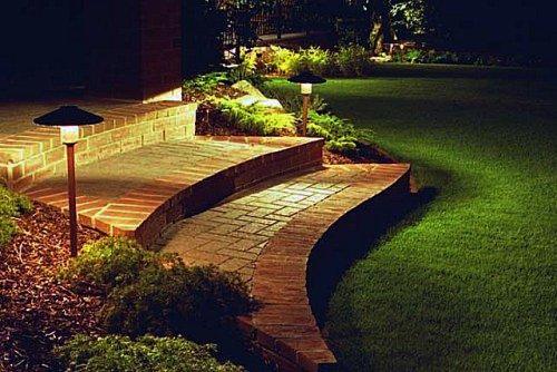 Decoracion y dise o decoraci n living decocasa exterior - Lamparas exteriores para jardin ...