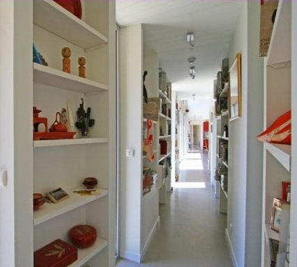 Ideas para la deco del pasillo decocasa - Cortinas para pasillos ...
