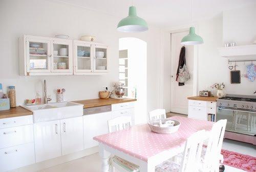 Tonos Pastel Para El Living Y La Cocina Decocasa