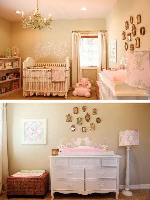 Dormitorios de beb en clave vintage decocasa for Cuartos de ninas estilo vintage
