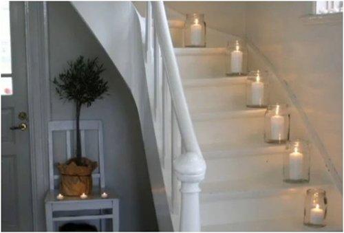 escalera velas