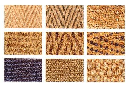 Alfombras de fibras naturales para el piso - Alfombras fibras naturales ...