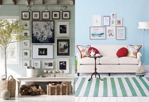 Tips consejos para decorar con cuadros decocasa for Ambientes chicos