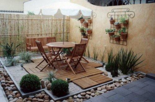 Ideas para decorar el patio decocasa for Patio decorado