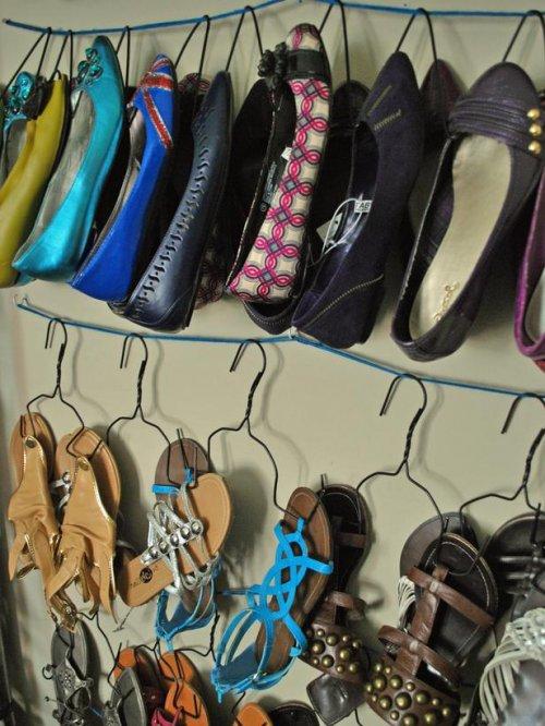 zapatos cuerdas