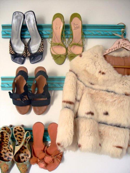 zapatos maderas
