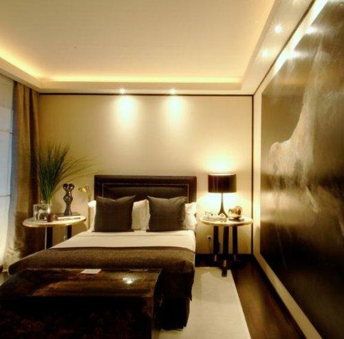 C mo iluminar dormitorios decocasa - Iluminacion dormitorio ...