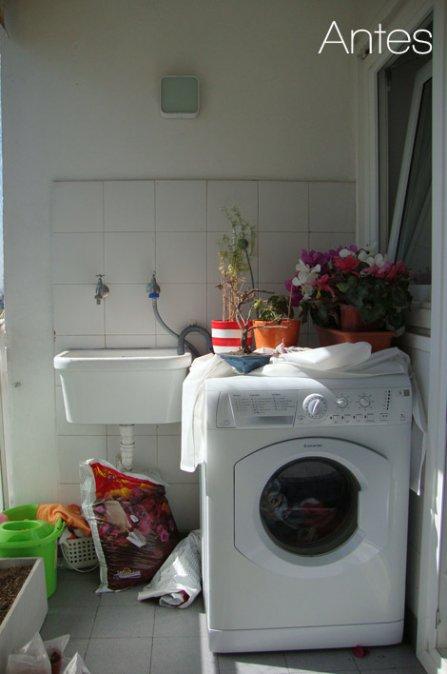Reformas el antes y despu s de un lavadero decocasa for Lavadero para bano