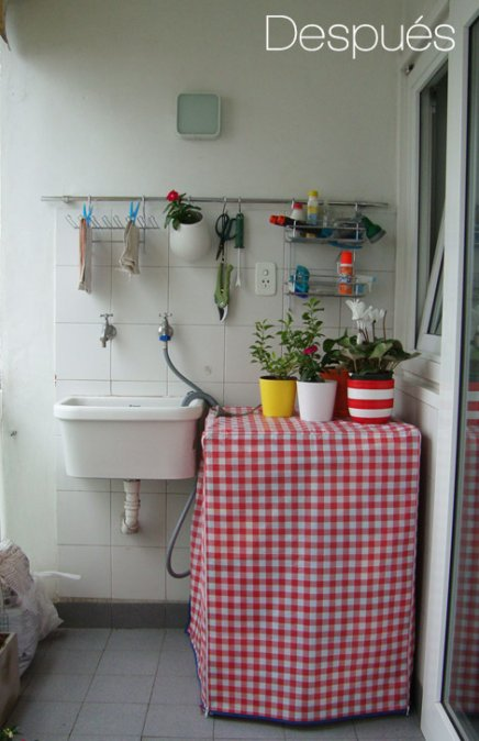Reformas el antes y despu s de un lavadero decocasa for Lavadero decoracion