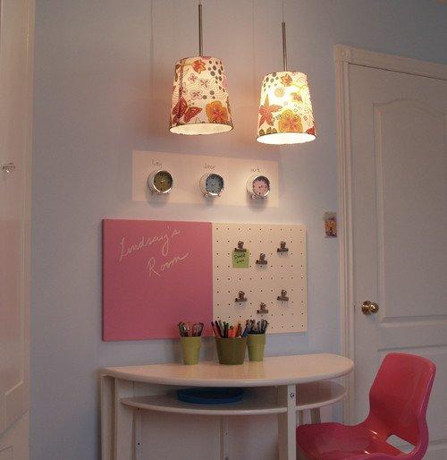 escritorio rosa