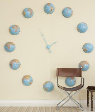 globos reloj