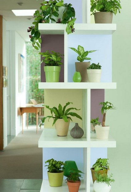 Decora con plantas de interior decocasa for Muebles para plantas