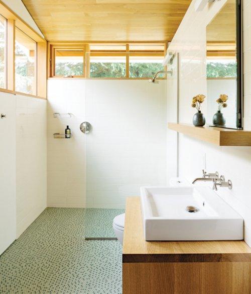 Ba̱os con ducha y planta rectangular РDecocasa