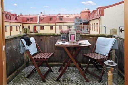 terraza muebles