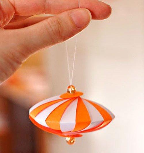 Dys adornos para el rbol de navidad de papel decocasa - Adornos para el arbol de navidad ...