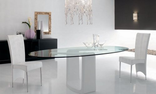 Mesas de comedor: Formas y características – Decocasa