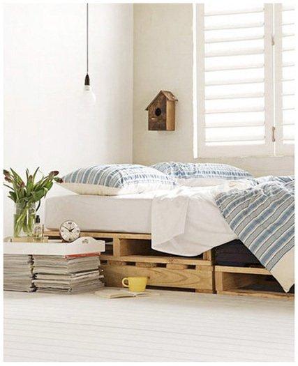 palet cama