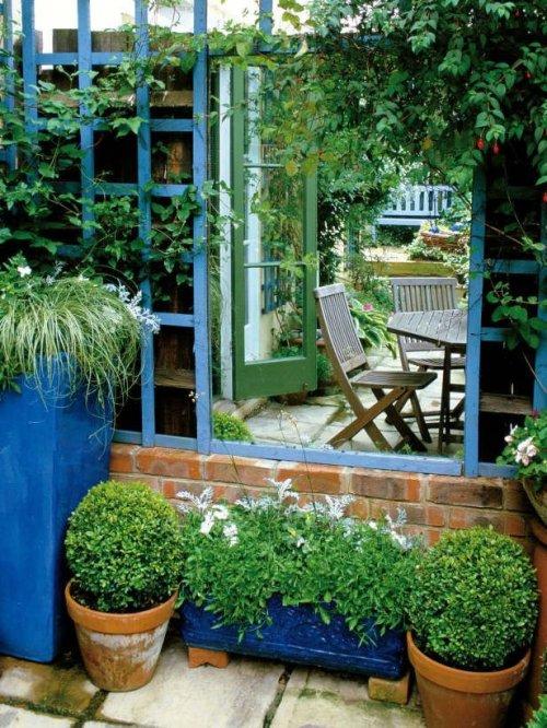 Espejo 1 for Jardines pequenos horizontales