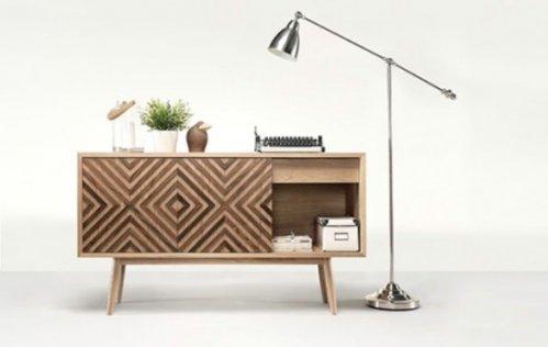 otra alternativa es utilizar las tonalidades diferentes en distintas partes del mueble