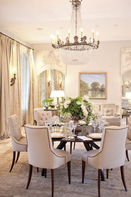 Comedorelegante 449×674  Decoración  Pinterest  Room Prepossessing Formal Dining Room Table Decorating Ideas Inspiration