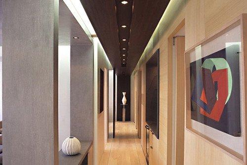 Ideas para decorar pasillos estrechos decocasa - Como decorar un pasillo estrecho ...