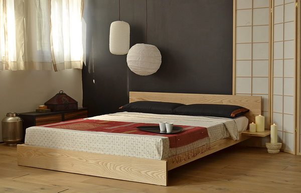 cama japones madera
