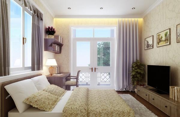 Dormitorio c mo elegir las cortinas adecuadas decocasa for Cortinas blancas dormitorio