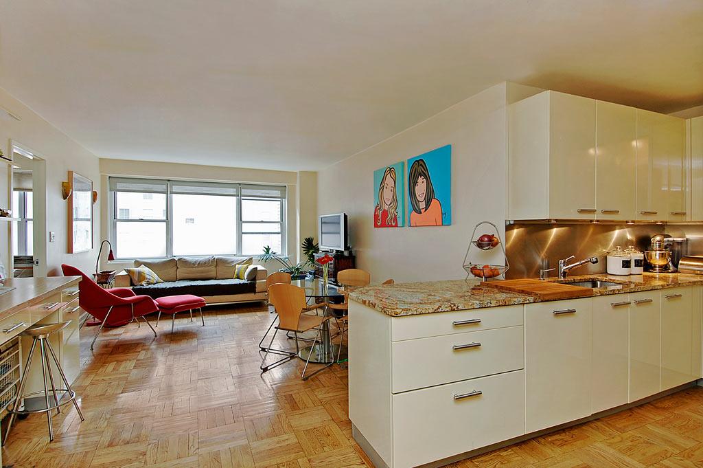 Ambientes integrados cuando la cocina se mezcla con el for Cocina y lavadero integrados