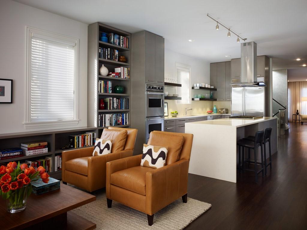 Ambientes integrados cuando la cocina se mezcla con el for Decoracion de living fotos