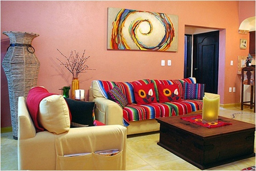 Estilo mexicano una forma decorativa alegre y c lida for Casas decoradas estilo contemporaneo