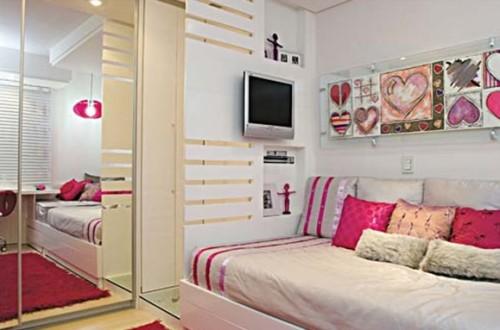 Ideas para dormitorios juveniles femeninos peque os decocasa - Dormitorios juveniles pequenos ...