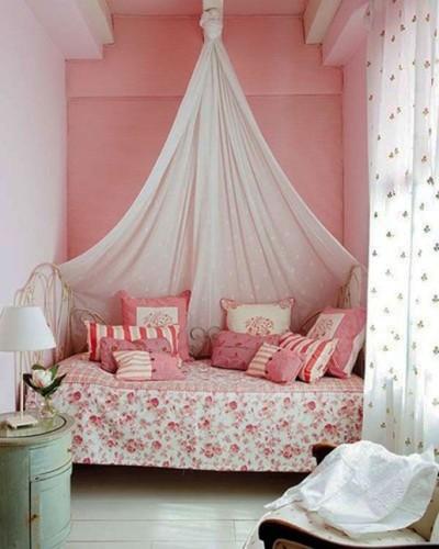 Ideas para dormitorios juveniles femeninos peque os decocasa - Habitaciones en espacios reducidos ...
