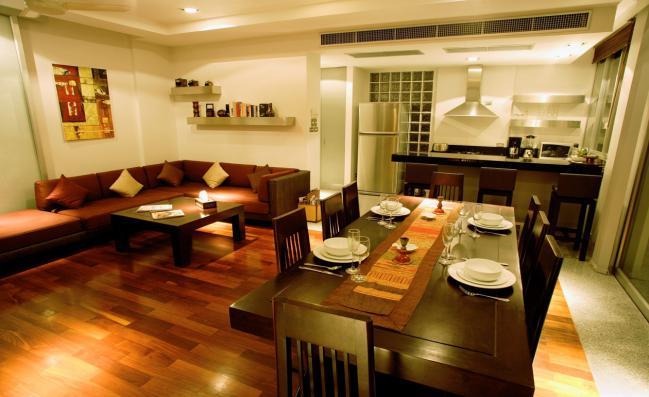 Living comedor dos espacios en un mismo ambiente decocasa for Decoracion para living y comedor
