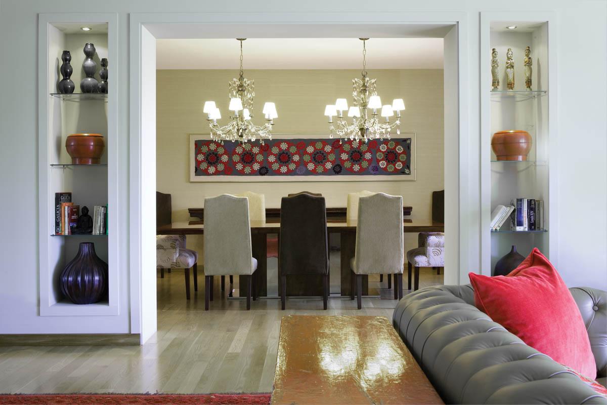 Living comedor dos espacios en un mismo ambiente decocasa for Living comedor cocina mismo ambiente