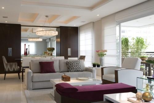 Living comedor dos espacios en un mismo ambiente decocasa for Deco living comedor