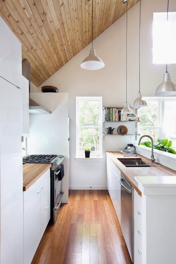 Estilo moderno en la cocina pequeña – Decocasa