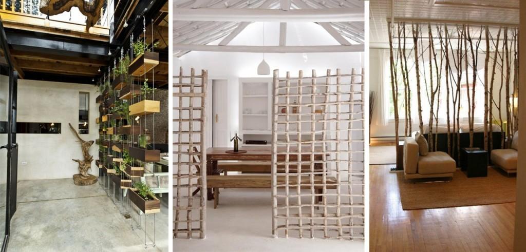 Mega ambientes ideas para separar espacios decocasa for Divisiones para sala y cocina
